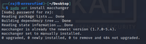 How to change the MAC address on linux
